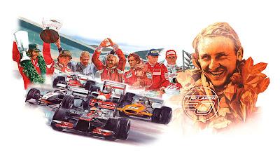 Чемпионы McLaren - рисунок к 50-летию команды #Happy50thMcLaren