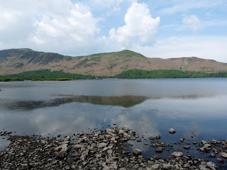 First morning view of Derwentwater