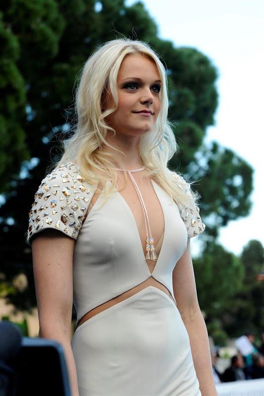 Эмилия Пиккарайнен на Amber Lounge Fashion Show на Гран-при Монако 2013