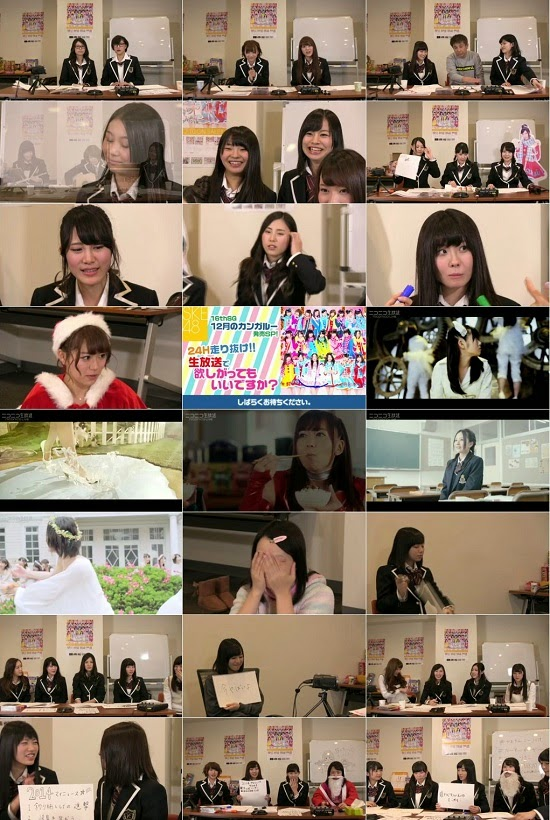 (TV-Variety)(480p) SKE48 16th Single Release 24 Hours Special in Niconico Live 141211