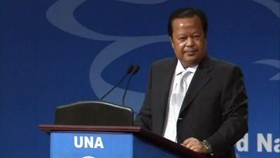 Prem Rawat Maharaji en United Nations Association (UNA) Of Malaysia