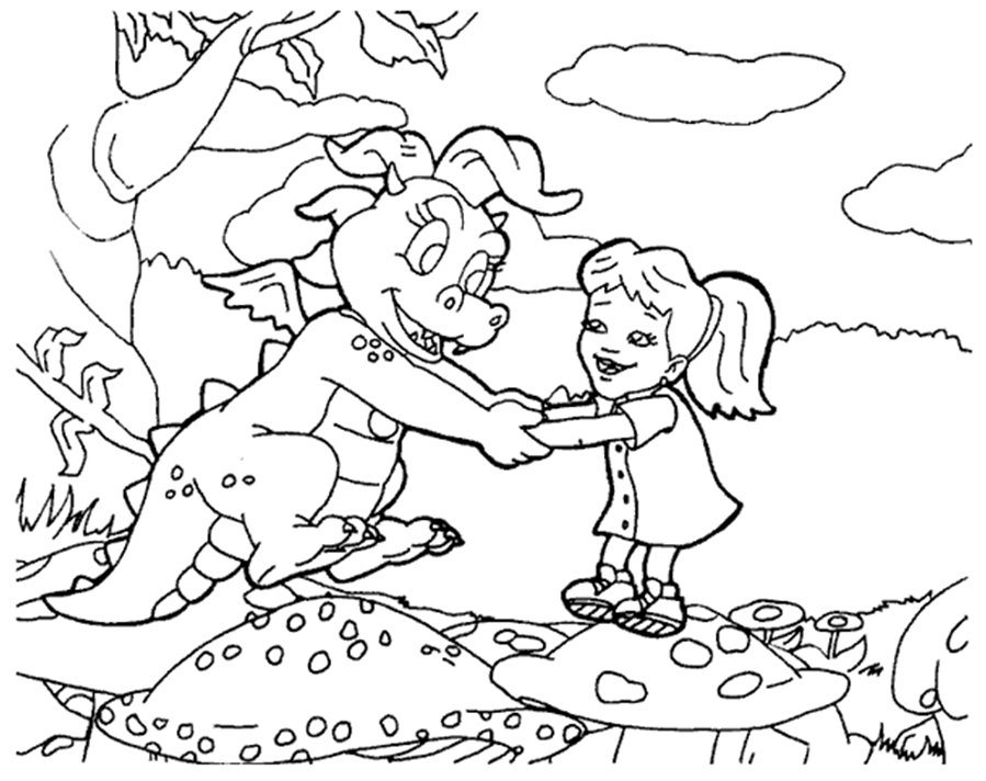 Dragon Coloring pages, Drawing for Kids, Reading and  - coloring pages of dragons