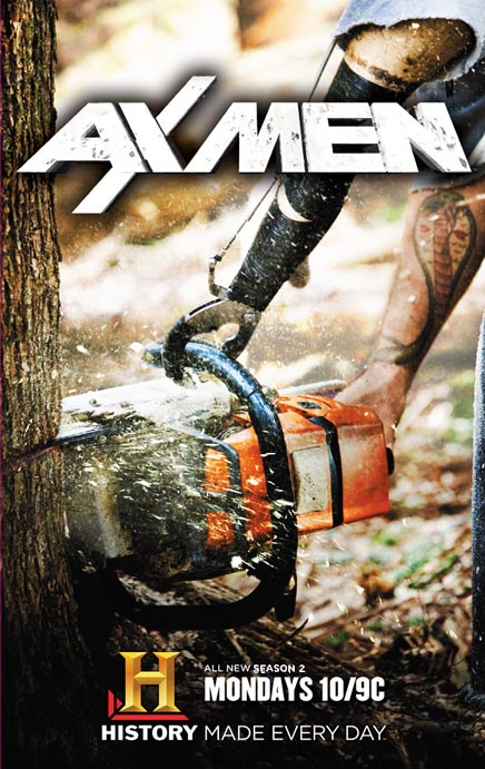Drwale 2 / Ax Men 2 (2009) PL.TVRip.XviD / Lektor PL