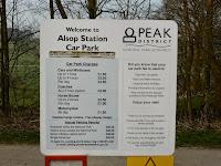 Alsop Station Car Park Charges On The Tissington Trail