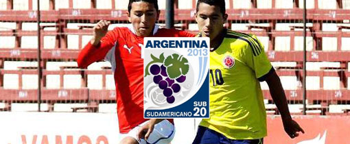 Chile vs. Colombia - Sudamericano Sub 20 en Vivo - CMD