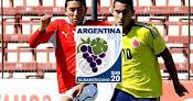 Chile vs. Colombia - Sudamericano Sub 20 en Vivo - CMD