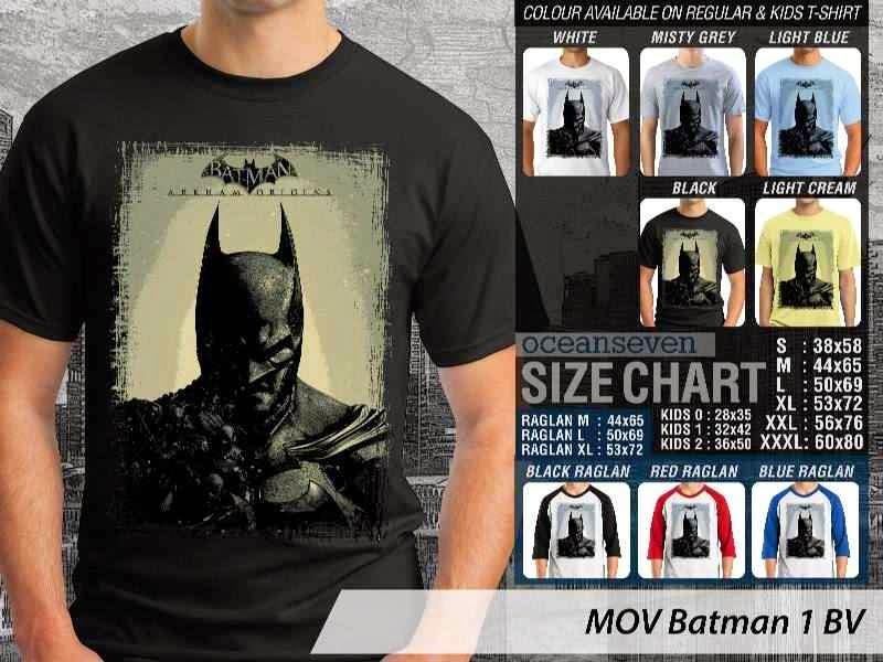Kaos ie Batman 1 Batman distro ocean seven