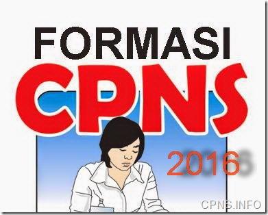 kuota formasi cpns 2016