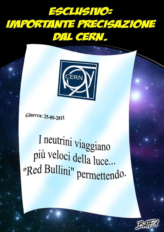 комикс Baffi про Red Bull и скорость света в сезоне 2011