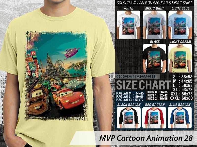 Kaos Kartun Cars Cartoon Animation 28 distro ocean seven