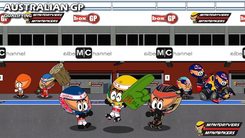 итоги квалификации на Гран-при Австралии 2012 от Los MiniDrivers