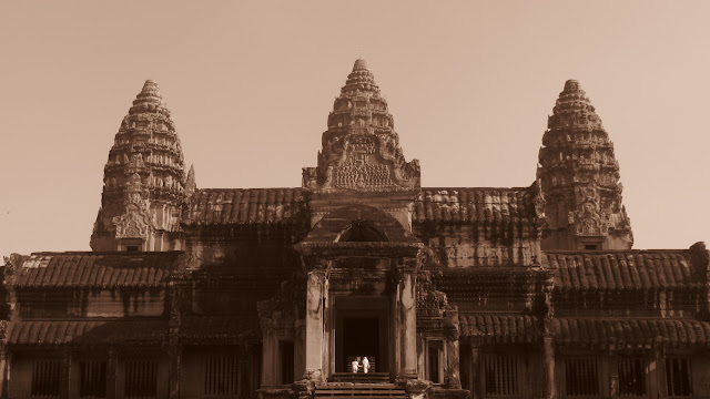 Angkor Wat - the main attraction.