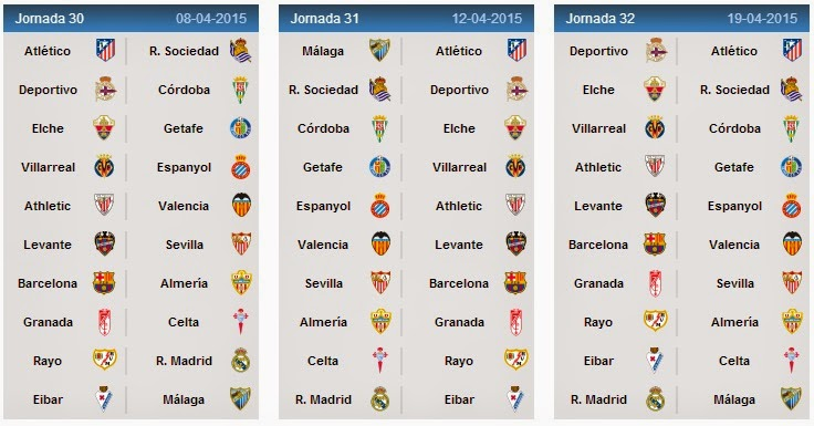 spanish la liga today matches