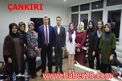 Çankırı Milletvekili Akbaşoğlu Esnafları Ziyaret Etti. Kadınlar G