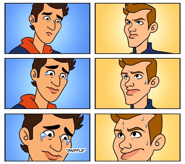 Даниэль Риккардо поддерживает напарника по Red Bull Себастьяна Феттеля - комикс It Goes Wrooom