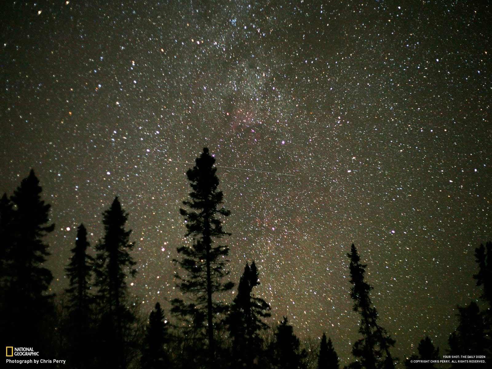 Gambar Bintang Yang Sangat Indah Di Langit Malam