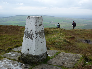 Taking in the view at Shining Tor