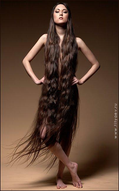 Как сделать волосы толще и темнее