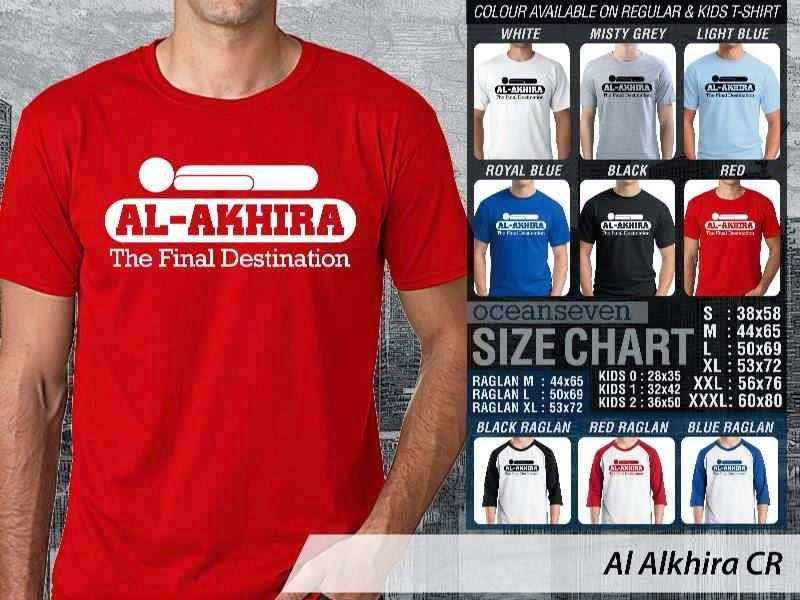 Kaos Distro Muslim Al Alkhira distro ocean seven