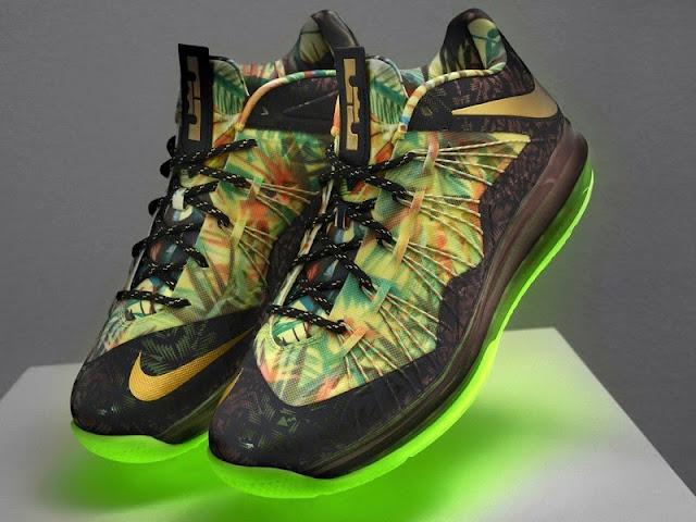 "Nike Air Max LeBron X Low - ""Championship Pack"" QS"