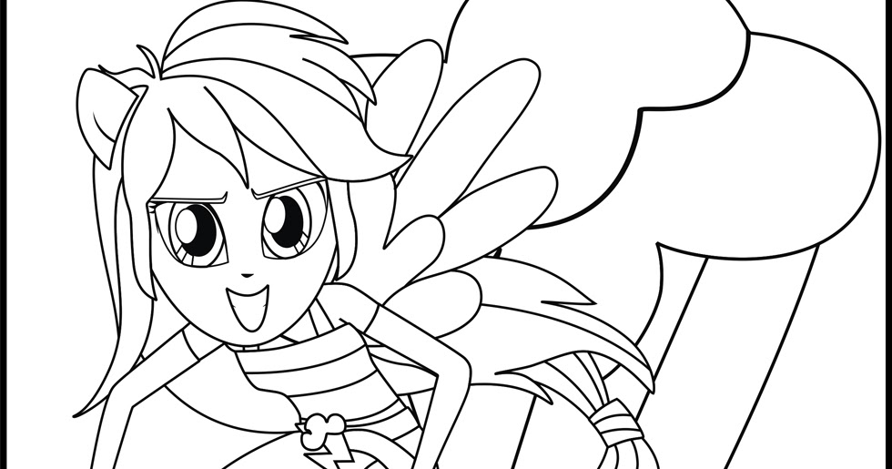 My Little Pony Rarity Coloring Pages Rainbow Dash Equestria Coloring Pages Printable