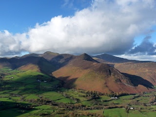 View towards Causey Pike