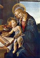 madonna del libro, botticelli