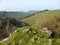 The summit of Shining Tor in Dovedale