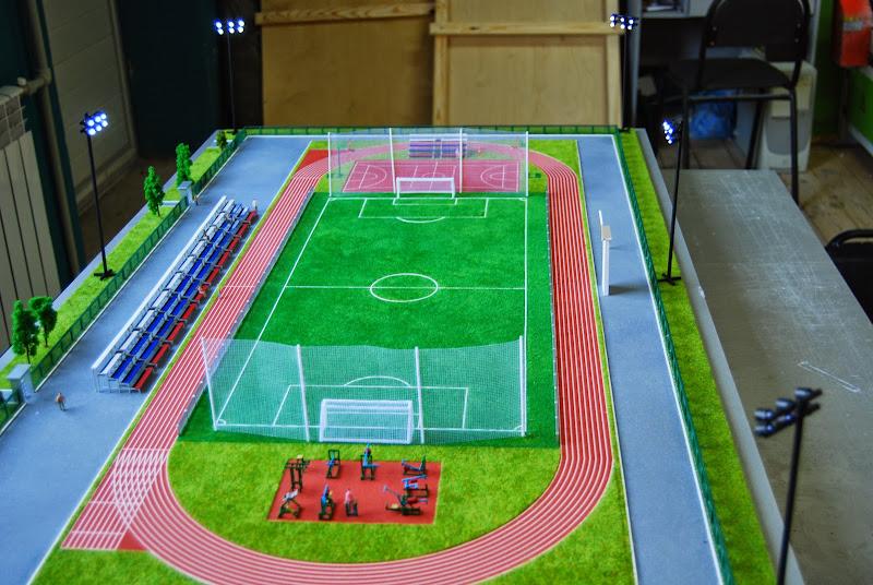 Спортивные сооружения своими руками