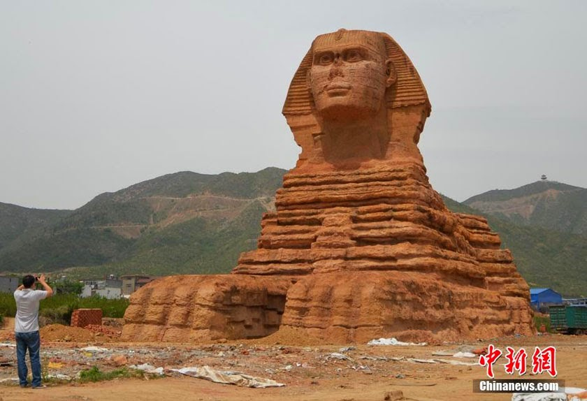Egypt angered over China's fake Sphinx