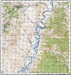Map 100k--m50-036--(1980)
