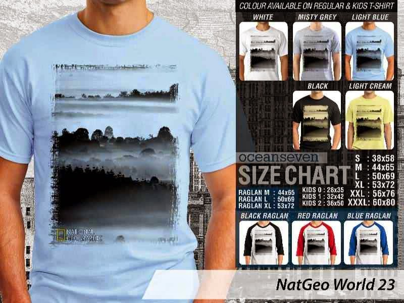 Kaos National Geographic NatGeo World 23 distro ocean seven