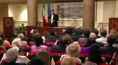 Prem Rawat Maharaji at Parliament of Italy