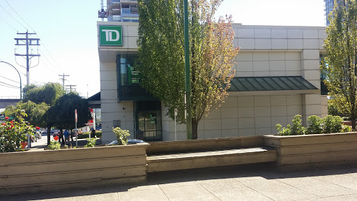 TD Canada Trust, 1933 Willingdon Ave, Burnaby, BC V5C 5J3, Canada, ATM, state British Columbia
