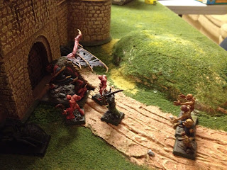 Varghulf reaches the east gate.