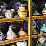 Pottery at the Exposition Artisianale - Casablanca, Morocco