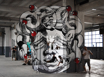Anamorphic Medusa Seen On www.coolpicturegallery.us