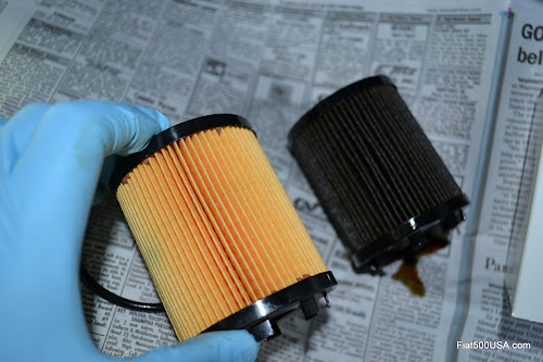 New Fiat 500 Oil Filter