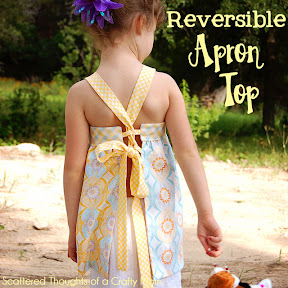 Reversible Apron Top