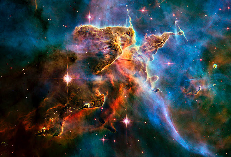 This apocalyptic image is the hubble telescope s photo of the super
