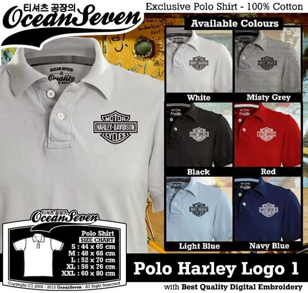 POLO Harley Davidson 2 Logo distro ocean seven