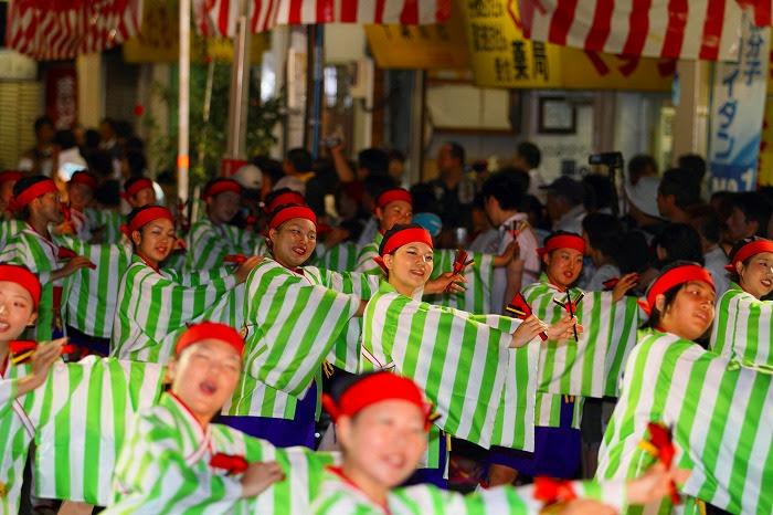 第59回よさこい祭り☆本祭2日目・升形地域競演場16☆上2目1038