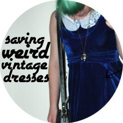 Velvet skirt to dress