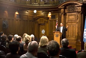 Prem Rawat Maharaji at Parliament of New Zealand