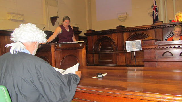 Heather takes the witness stand.