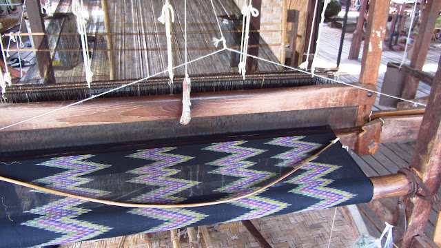 A traditional loom.