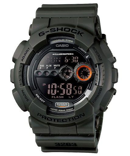 Casio G-Shock : GD-100MS