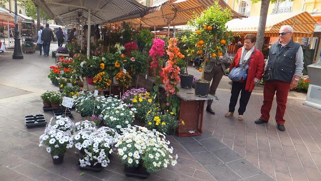 Mercado de Flores, Cours Saleya en Niza