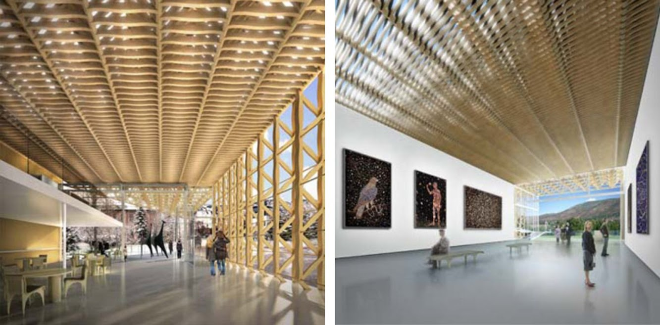 Aspen Art Museum by Shigeru Ban open next