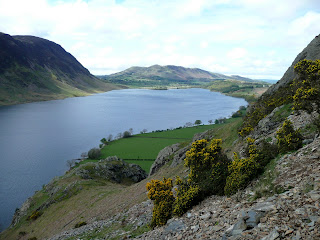 Crummock Water with Low Fell in the distance